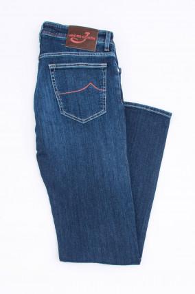 Jeans COMFORT FIT in Mittelblau