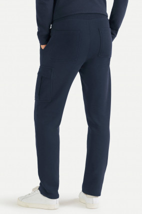 Cargo Sweatpants in Navy