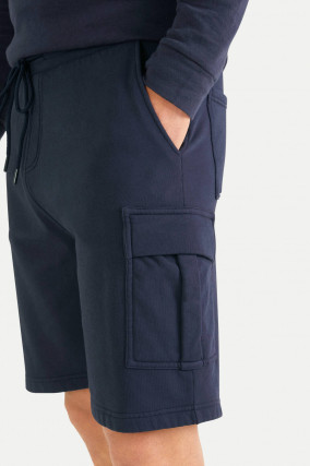 Jersey Cargoshorts in Navy