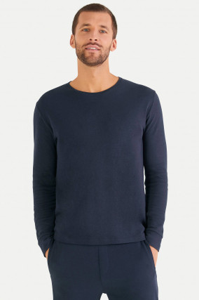 Cashmix Sweater in Navy