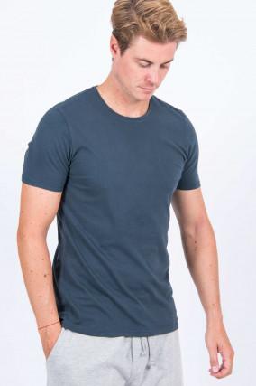 T-Shirt in Graublau