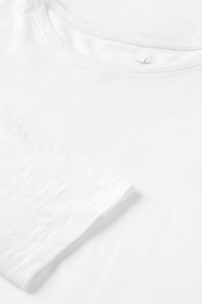 Longsleeve in Weiß