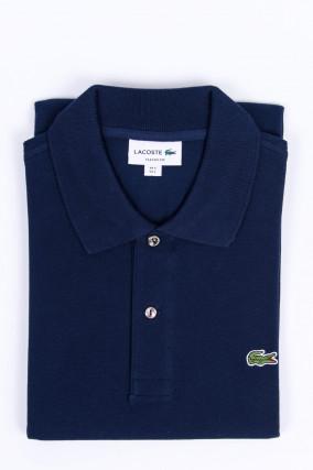 Poloshirt mit Logo in Navy