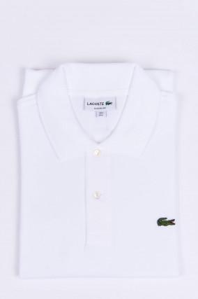 Poloshirt mit Logo in Weiß
