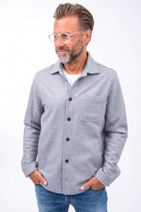 Woll-Hemd in Grau