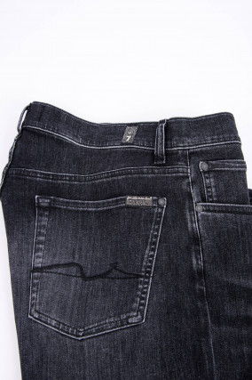 Jeans SLIMMY in Washed Black