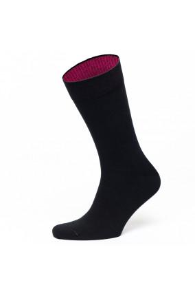 Socken in Schwarz/Pink