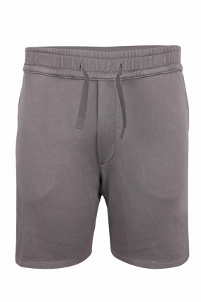 Jersey Shorts in Grau