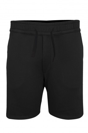 Jersey Shorts in Schwarz