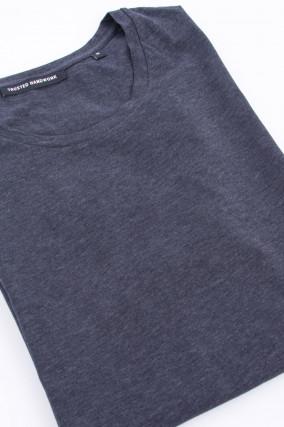 Basic T-Shirt in Anthrazit