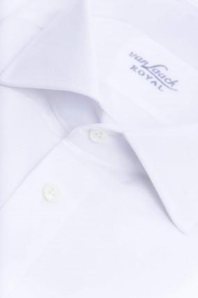Hemd mit Struktur in Weiß
