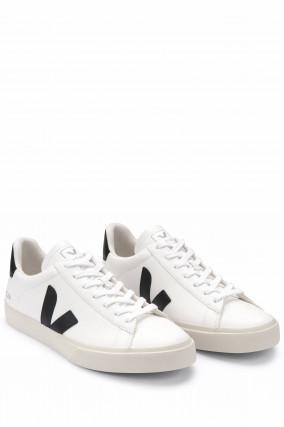 Nachhaltiger Sneaker CAMPO in Weiß/Schwarz