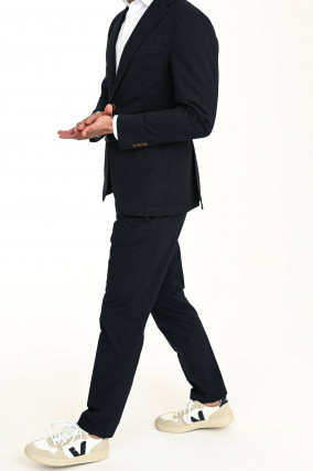 Shaped-Fit Anzug SOLARO SINO in Navy