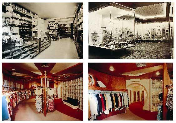 Damenmodegeschäft Grüner 1969