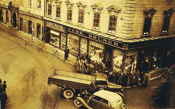 30er Jahre Autounfall - 1935