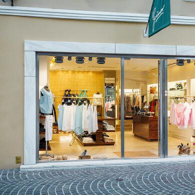Modehaus Grüner: Store in der Kramergasse - Eingang (Bild 1 von 2)