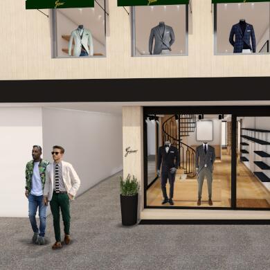 Modehaus Grüner: Store in Velden - Herren - Konzept (Bild 8 von 9)