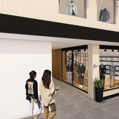 Modehaus Grüner: Store in Velden - Herren - Konzept (Bild 9 von 9)